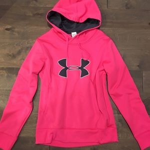 UNDER ARMOUR M Hot Pink Hoodie